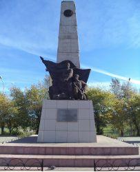 Резные памятники Берёзовский, Кемеровская обл. Эконом памятник Пламя Северо-Задонск